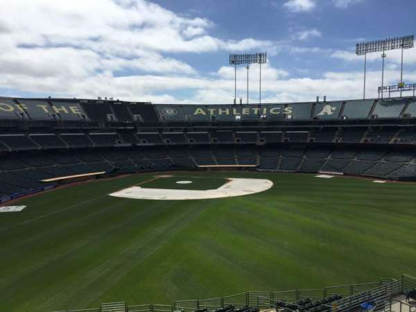 Oakland Coliseum, section: 247, row: 2