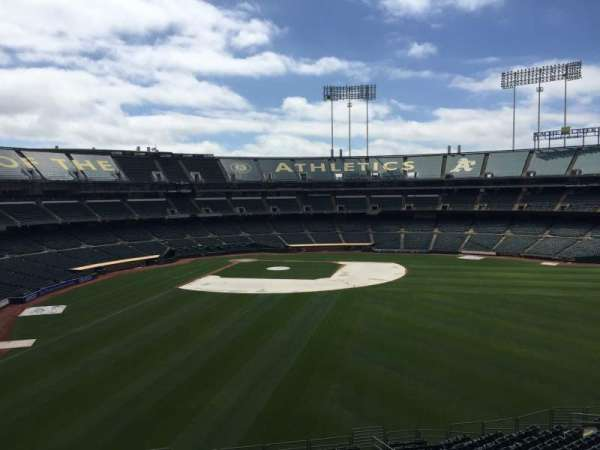 Oakland Coliseum, section: 248, row: 2
