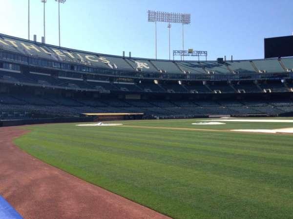 Oakland Coliseum, section: 1B FB