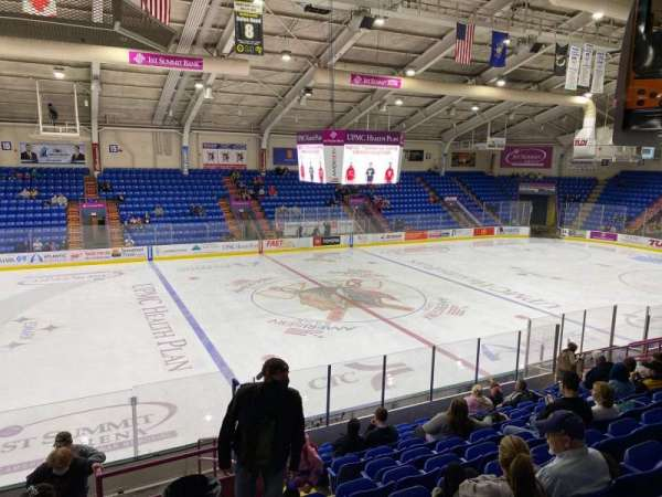 1st Summit Arena, section: 2, row: N, seat: 20