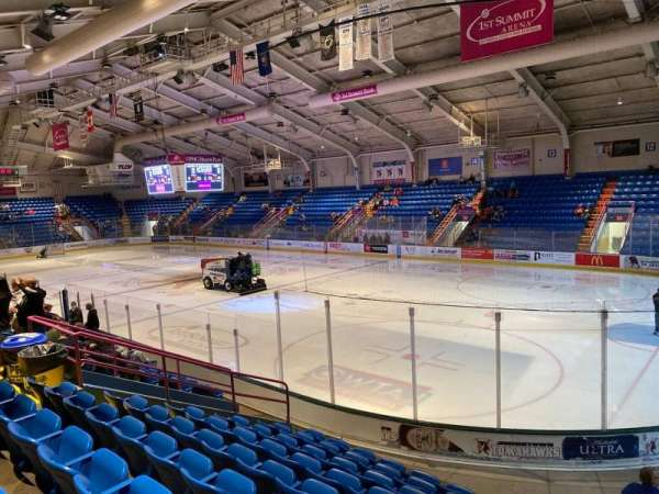 1st Summit Arena, section: 6, row: K, seat: 15