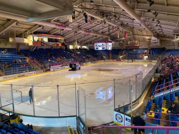 1st Summit Arena, section: 11, row: K, seat: 5