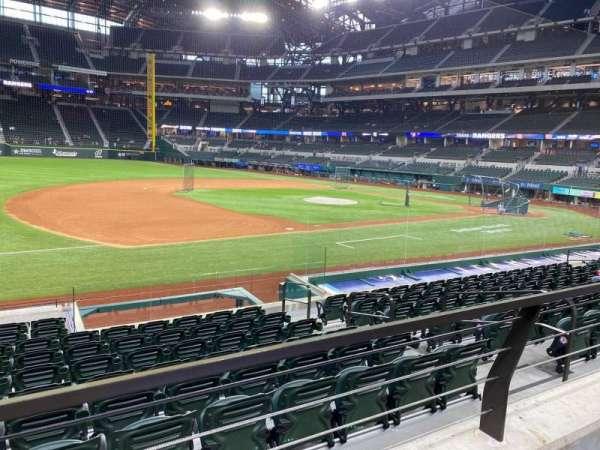 Globe Life Field, section: 6, row: 9, seat: 6