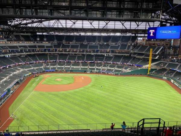 Globe Life Field, section: 234, row: 18, seat: 15