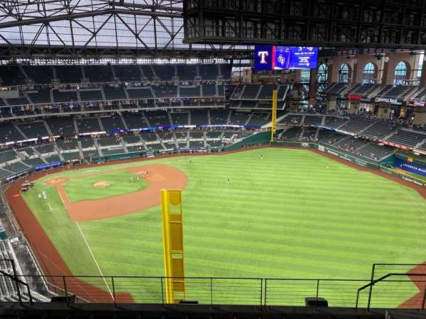 Globe Life Field, section: 325, row: 8, seat: 13