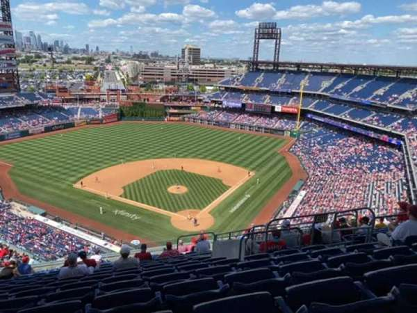 Citizens Bank Park, section: 422, row: 16, seat: 7