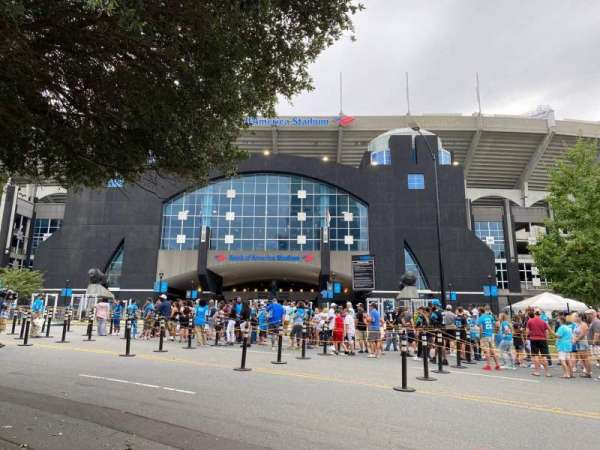 Bank of America Stadium, section: North Gate