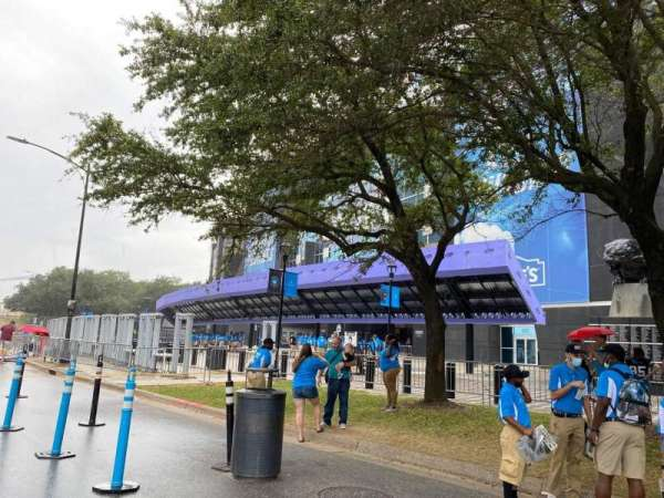 Bank of America Stadium, section: Lowe's Gate