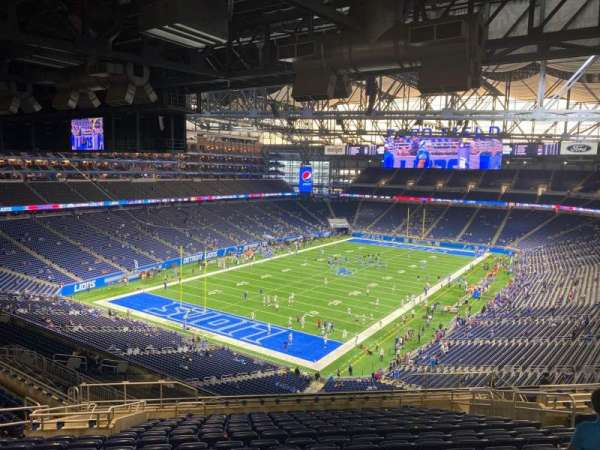 Ford Field, section: 332, row: 16, seat: 17