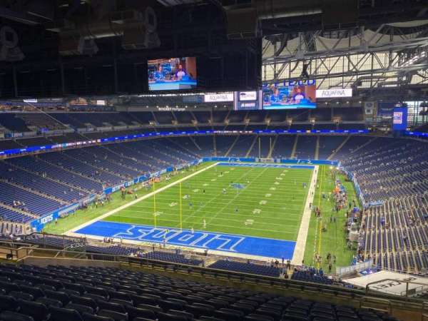 Ford Field, section: 336, row: 13, seat: 23