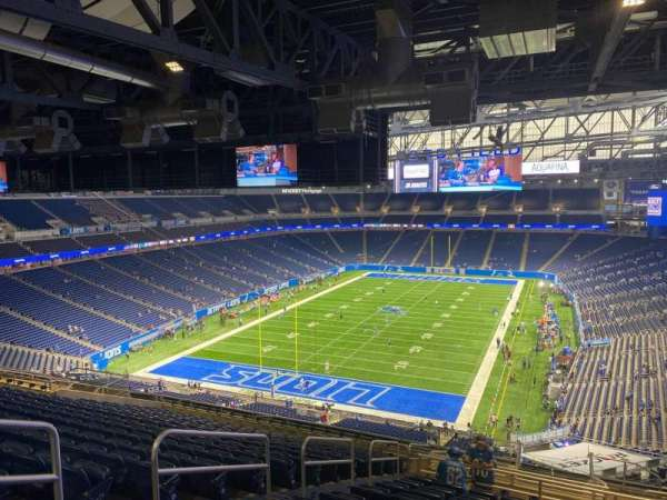 Ford Field, section: 347, row: 17, seat: 5