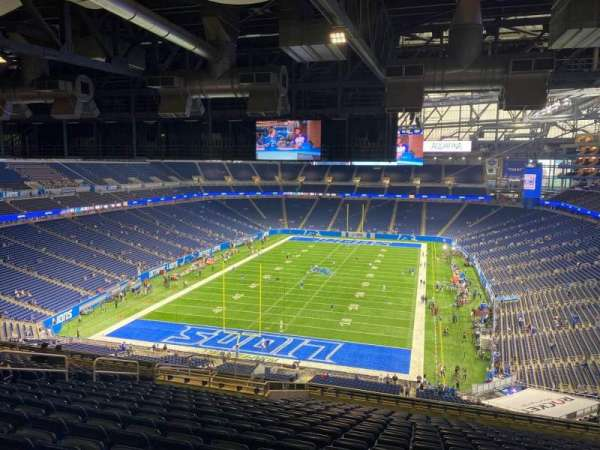 Ford Field, section: 346, row: 18, seat: 15