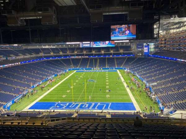 Ford Field, section: 345, row: 15, seat: 15