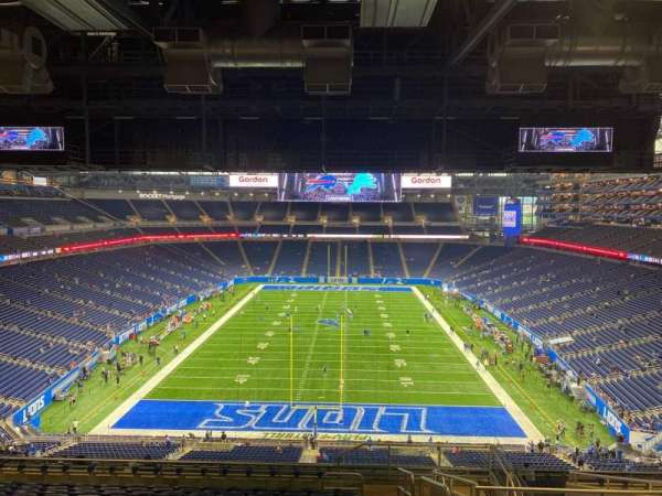 Ford Field, section: 344, row: 13, seat: 26