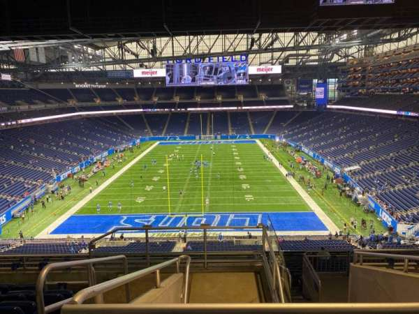 Ford Field, section: 345, row: 7, seat: 2