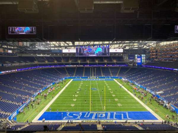 Ford Field, section: 344, row: 9, seat: 13