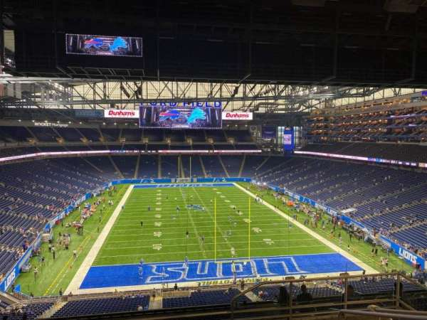 Ford Field, section: 343, row: 7, seat: 23