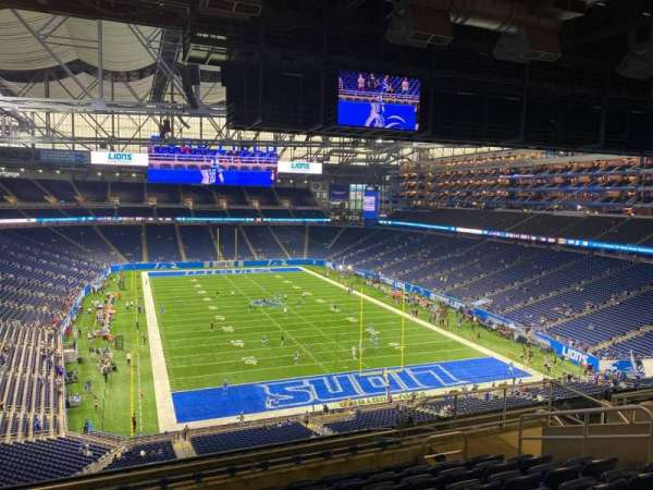 Ford Field, section: 342, row: 9, seat: 17