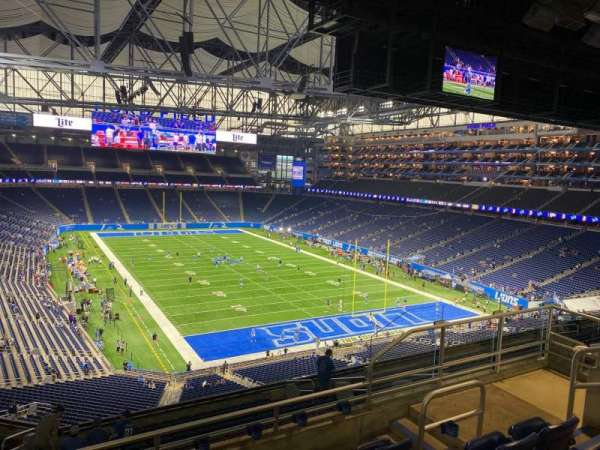 Ford Field, section: 341, row: 5, seat: 9