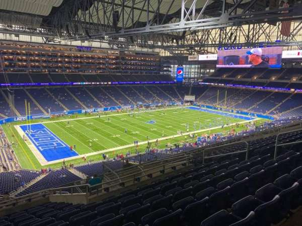 Ford Field, section: 326, row: 12, seat: 12