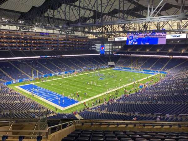 Ford Field, section: 324, row: 10, seat: 10