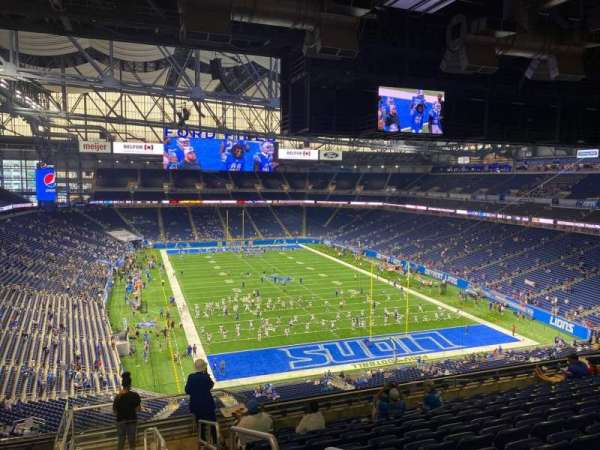 Ford Field, section: 315, row: 11, seat: 35