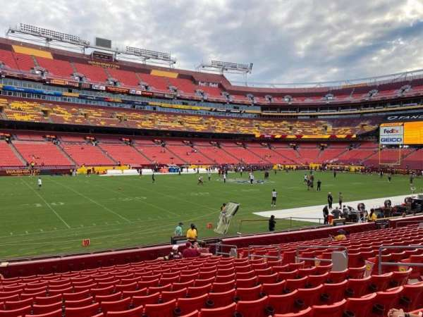 FedEx Field, section: 125, row: 16, seat: 11