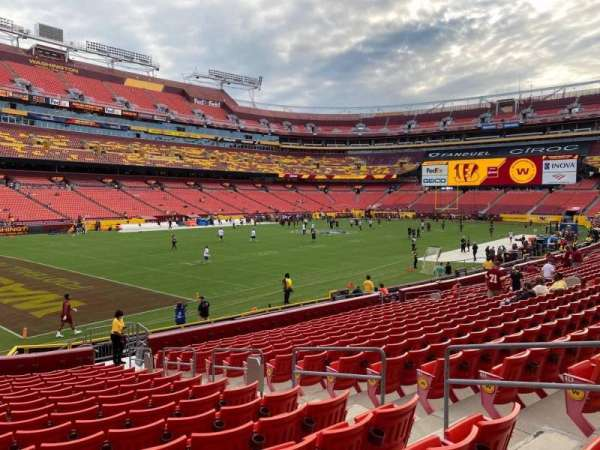FedEx Field, section: 127, row: 17, seat: 17