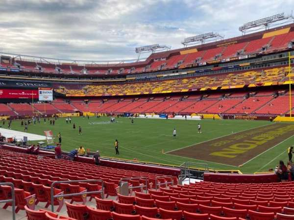 FedEx Field, section: 137, row: 17, seat: 7