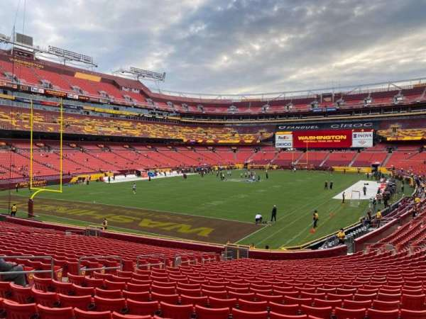 FedEx Field, section: 129, row: 24, seat: 7