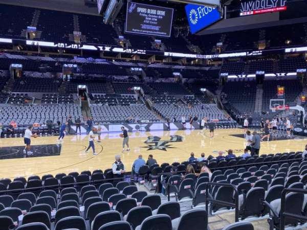 AT&T Center, section: 24, row: 13, seat: 4