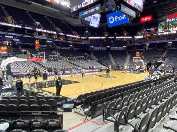 AT&T Center, section: 26, row: 9, seat: 2
