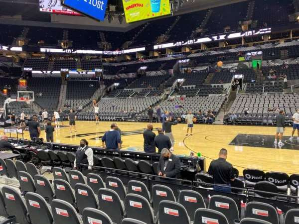 AT&T Center, section: 6, row: 9, seat: 14