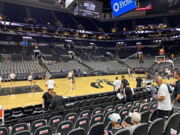 AT&T Center, section: 10, row: 10, seat: 10