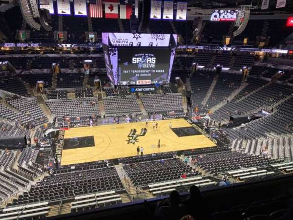 AT&T Center, section: 225, row: 5, seat: 9