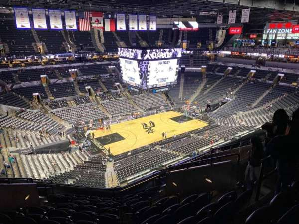 AT&T Center, section: 227, row: 10, seat: 9