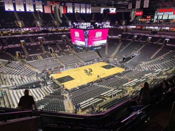 AT&T Center, section: 227, row: 7, seat: 11