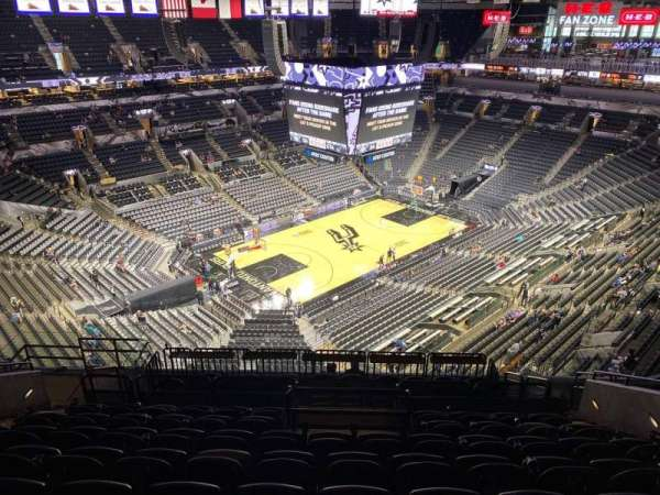 AT&T Center, section: 228, row: 12, seat: 9