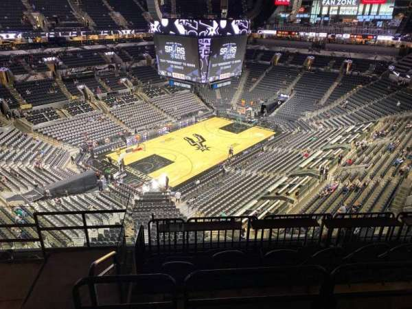 AT&T Center, section: 228, row: 3, seat: 16