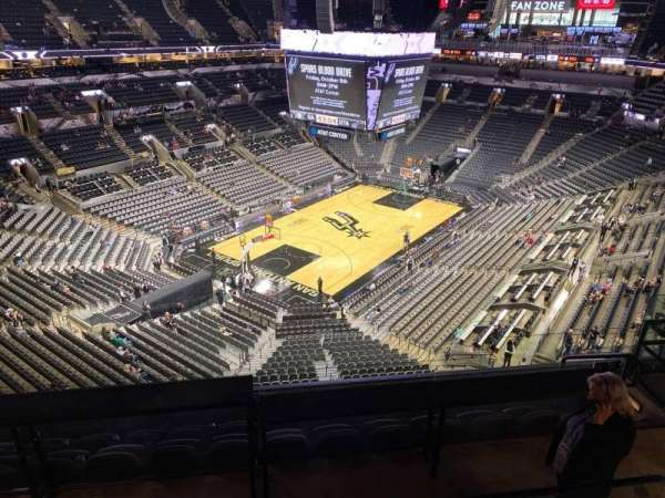 AT&T Center, section: 229, row: 7, seat: 12