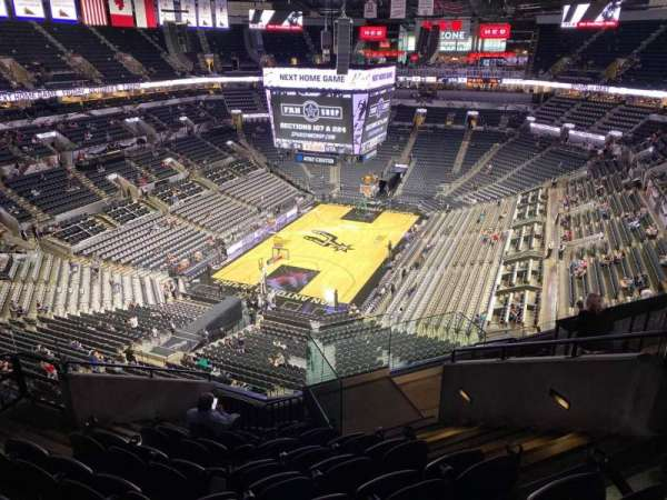 AT&T Center, section: 230, row: 9, seat: 4