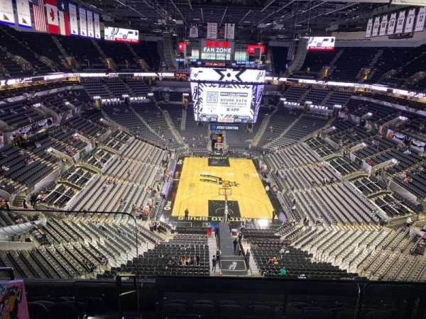 AT&T Center, section: 200, row: 8, seat: 15