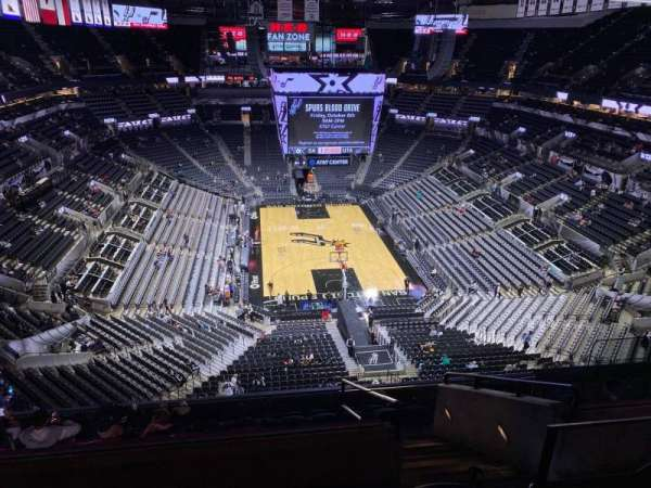 AT&T Center, section: 201, row: 10, seat: 6