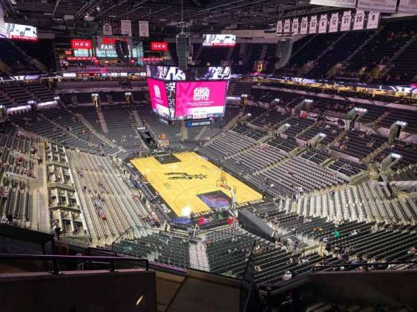 AT&T Center, section: 202, row: 8, seat: 10