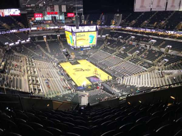 AT&T Center, section: 202, row: 12, seat: 9