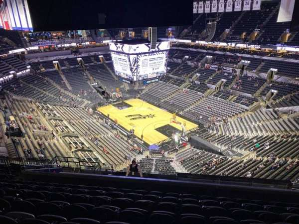 AT&T Center, section: 203, row: 14, seat: 15