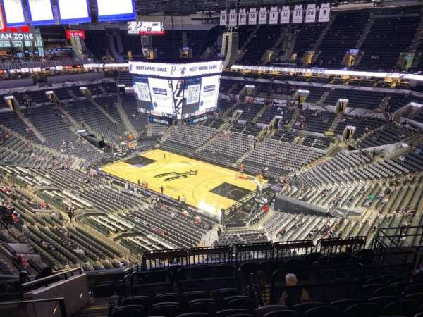 AT&T Center, section: 204, row: 11, seat: 12