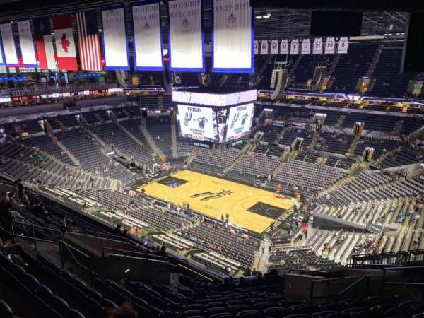 AT&T Center, section: 205, row: 14, seat: 9