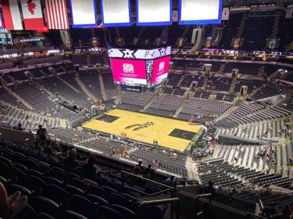 AT&T Center, section: 205, row: 12, seat: 22