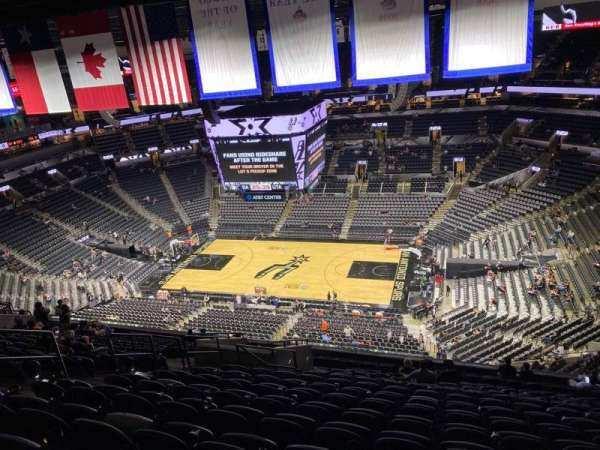 AT&T Center, section: 206, row: 16, seat: 12